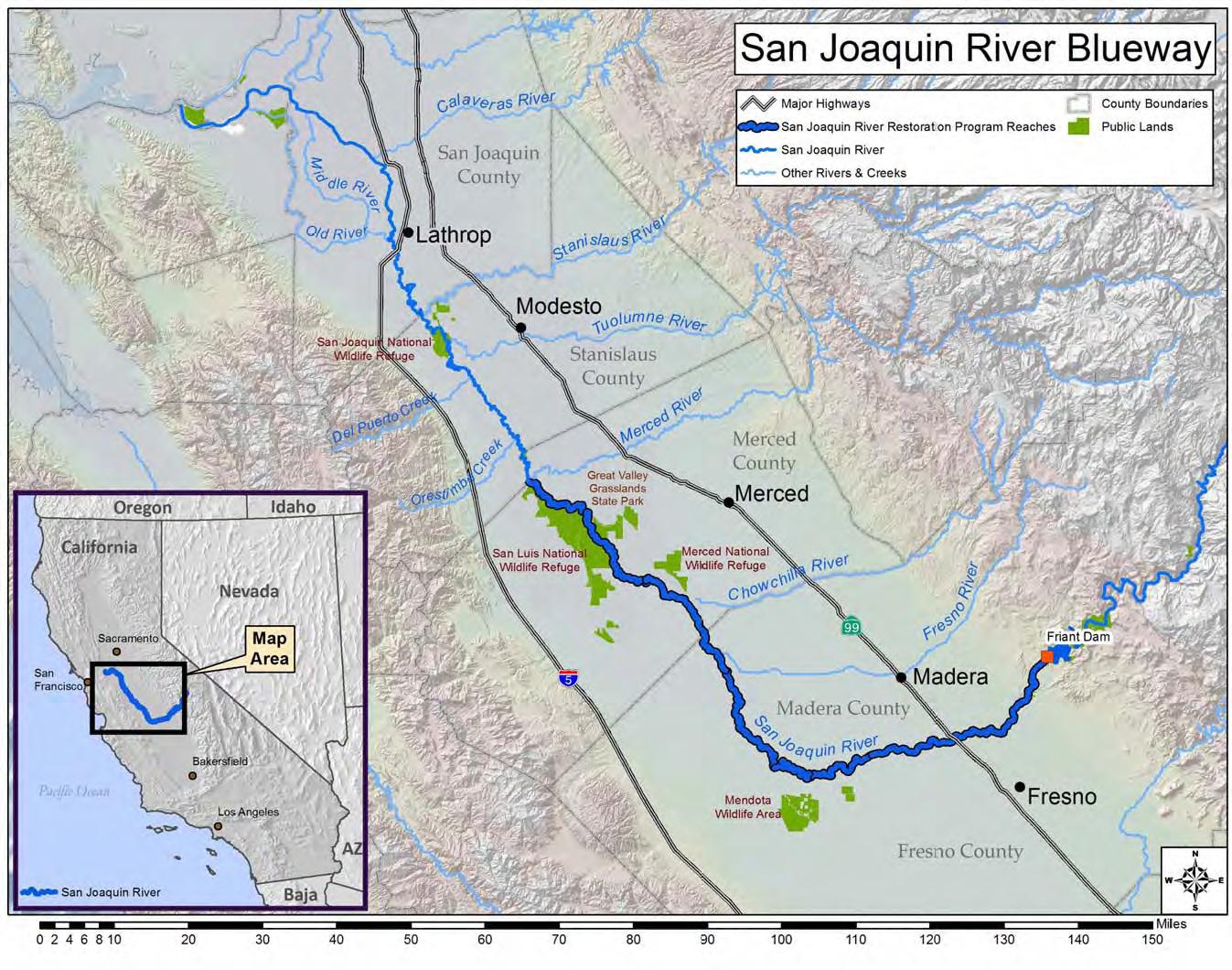 san joaquin river blueway vision san joaquin river partnership